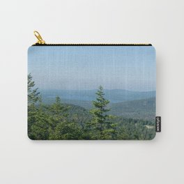 Acadia National Park Green & Blue Sky Carry-All Pouch