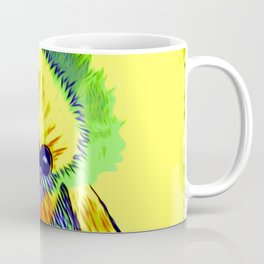 Baby Chick Learns To Fingerpaint Coffee Mug