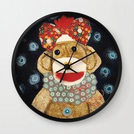 Sweetpea Wall Clock