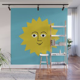 sunshine smiles Wall Mural