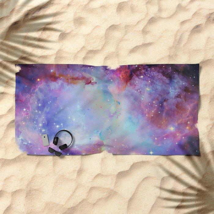 A Galaxy Far Far Away Beach Towel