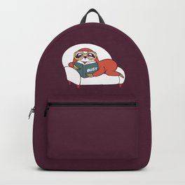 Busy  Sloth Backpack
