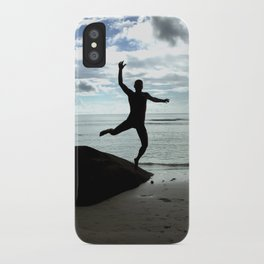 Open your mind, freedom's a state iPhone Case