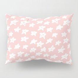 Stars on pink background Pillow Sham
