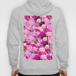Pink Peony Party Hoody