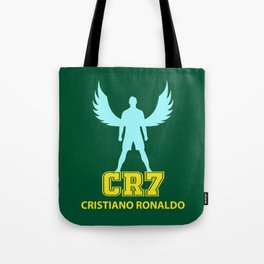 Angel Cristiano CR7 Tote Bag