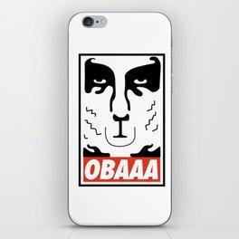 OBAAA iPhone Skin