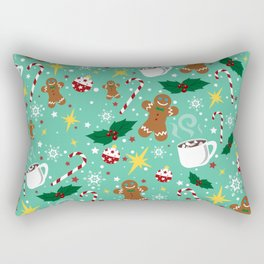 Jolly Holidays Rectangular Pillow