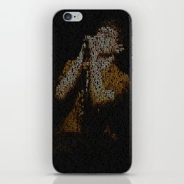 Ian Curtis : Unknown Pleasures iPhone Skin