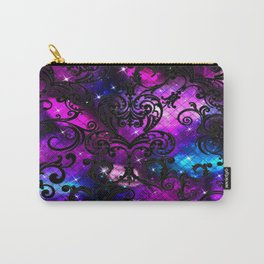 Black Lace Galaxy Carry-All Pouch