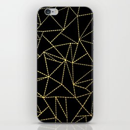 Ab Dotted Gold iPhone Skin