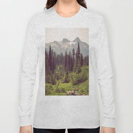 Faraway - Wilderness Nature Photography Long Sleeve T-shirt