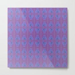 Jj - pattern 1 Metal Print