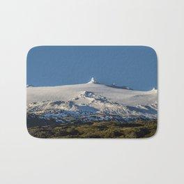 Snaefellsjokull volcano 3 Iceland Bath Mat