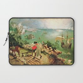 Landscape With The Fall Of Icarus Painting Pieter Bruegel The Elder Laptop Sleeve