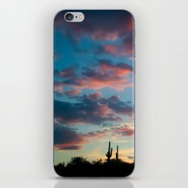 Sunset in the Arizona Desert iPhone Skin