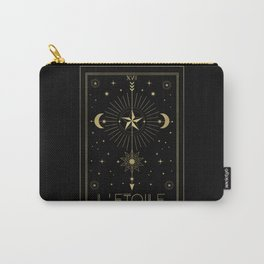 L'Etoile or The Star Tarot Gold Carry-All Pouch