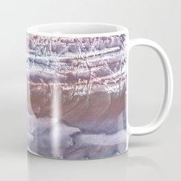 Violet brown hand-drawn wash drawing Coffee Mug