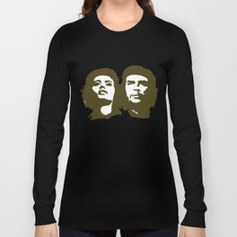 Che Guevara and the woman he loved Long Sleeve T-shirt
