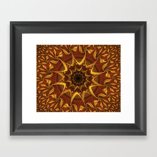 Carpet Of The Sun Framed Art Print
