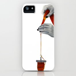 spindle spinning iPhone Case