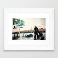sons of anarchy Framed Art Prints featuring Sons of Anarchy by PIXERS