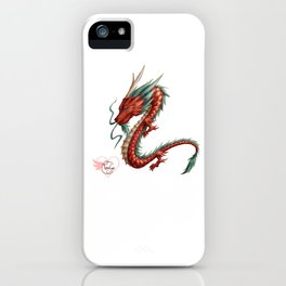 Dragon pure iPhone Case