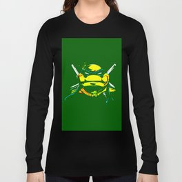 leonardo ninja turtle Long Sleeve T-shirt