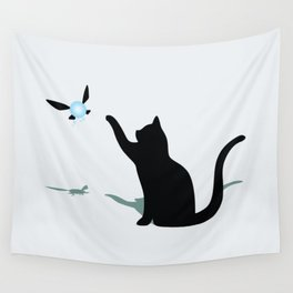 Cat and Navi Wall Tapestry