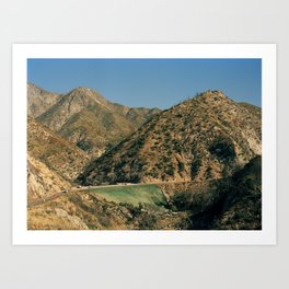 Angeles Forest Art Print