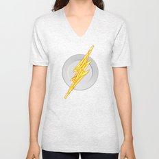 Flash Food Unisex V-Neck