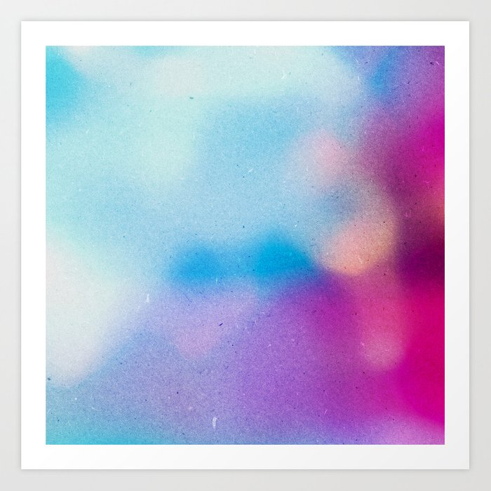 BLUR / morning dew Art Print