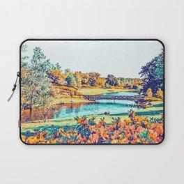 Garden Stroll #painting #nature Laptop Sleeve