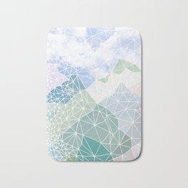 Multicolour Magic Mountains Bath Mat
