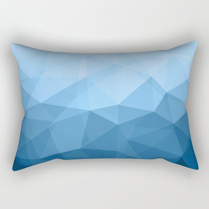 Geometric Polygonal Pattern 03 Rectangular Pillow