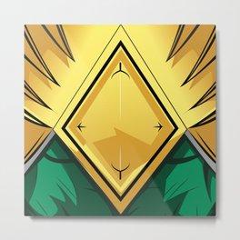 Mighty Morphin - Green Rangers Metal Print