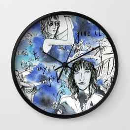 Don't give it to any girl but me Wall Clock