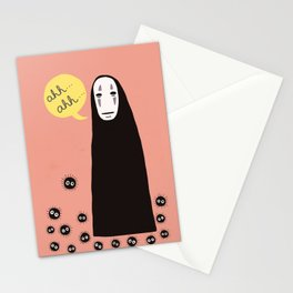 Spirited Away No Face Ahh..Ahh... Stationery Cards