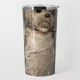 trapped teddy bear Travel Mug