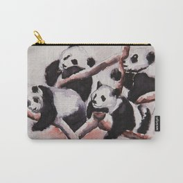 Lazy days Panda's by Machale O'Neill Carry-All Pouch