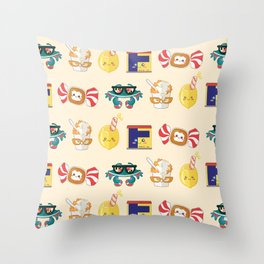 It's Bawlmer, hon! Throw Pillow