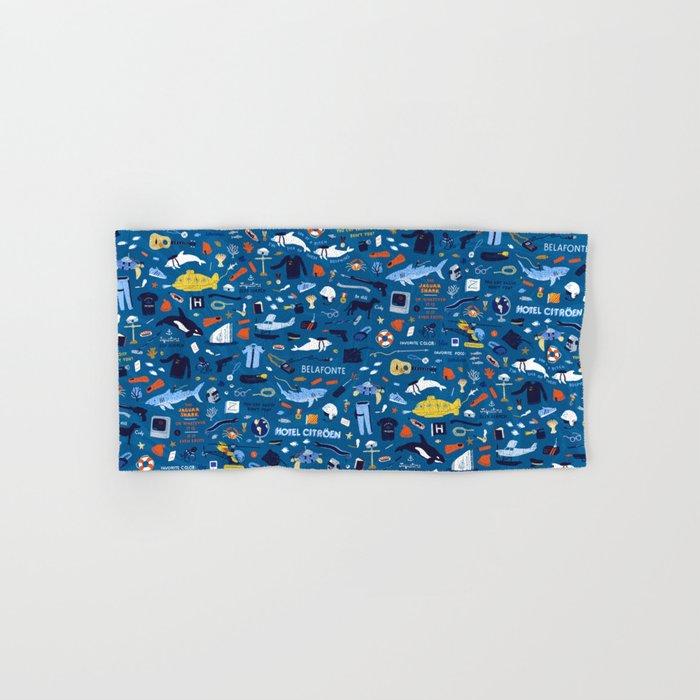 Life Aquatic Plot Pattern Hand & Bath Towel