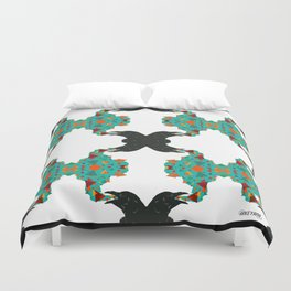 Crow's Cacophony Duvet Cover