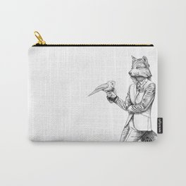 Gentleman Wolf Carry-All Pouch