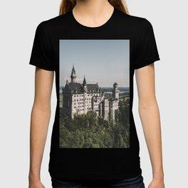 Neuschwanstein fairytale Castle - Landscape Photography T-shirt