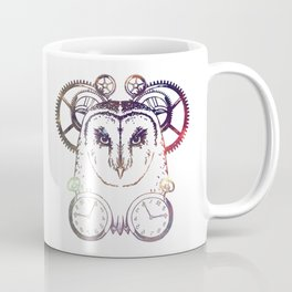 Clockwork Owl - Galaxy Coffee Mug
