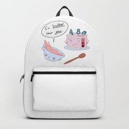 I'm BATTER Than You! Backpack