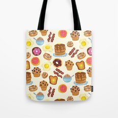 Breakfast Tote Bag