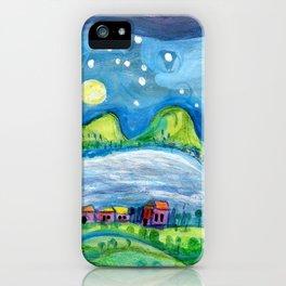 Around the Lake iPhone Case