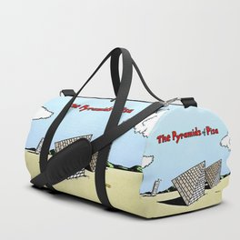 The Pyramids of Pisa Duffle Bag
